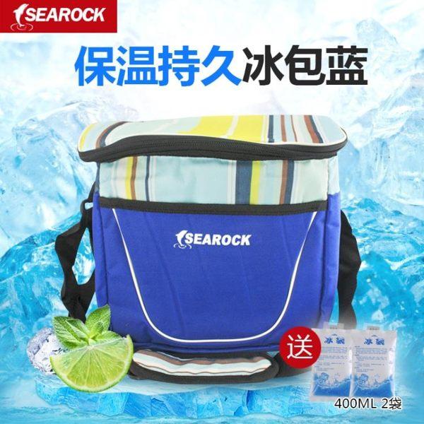 保冷箱 海巖戶外冰袋保溫包冰包飯盒便當包外賣保溫箱保溫袋保鮮冷藏食品 MKS免運