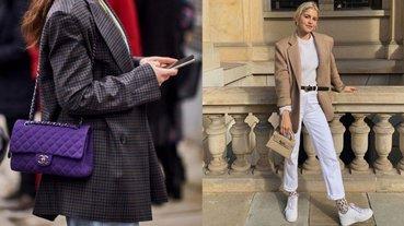 天氣冷擔心穿太多變大隻?就靠「包包」來修飾身型吧!5 招「包包瘦身術」大公開!