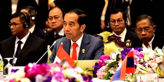 Jokowi di Bangkok. istimewa ©2019 Merdeka.com