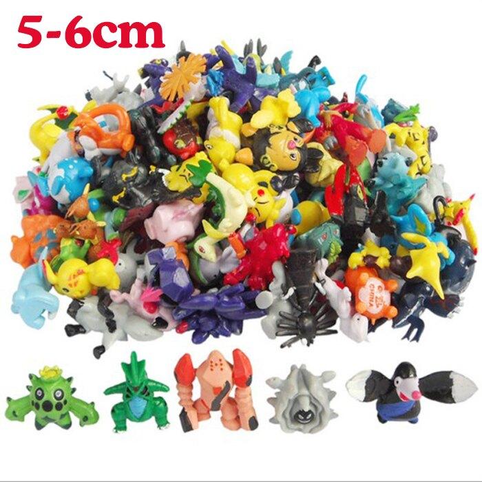 tangyizi輕鬆購【DS090】神奇寶貝公仔模型 皮卡丘(大) 動漫 周邊寵物小精靈 玩偶共80款-整組賣