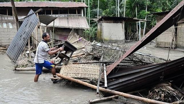 น้ำท่วมในเอเชียใต้ เสียชีวิตเพิ่มขึ้นเป็น 151 ศพ ชาวอินเดียได้รับผลกระทบ 6.7 ล้านคน