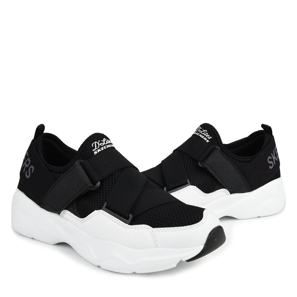 Skechers D'lites 女款 黑白 休閒鞋 88888177/bkw