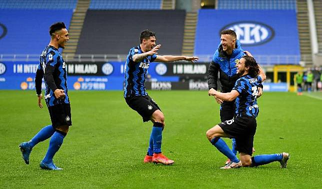 Inter Milan. REUTERS/Daniele Mascolo