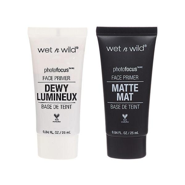 Wet N Wild 完美上相透亮/無瑕零毛孔 妝前乳(25ml) 款式可選【小三美日】