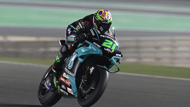 Franco Morbidelli menjadi yang tercepat di FP1 MotoGP Qatar (twitter: Petronas Yamaha SRT)