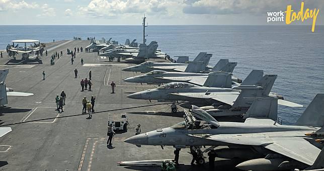 สหรัฐฯ ส่งเรือบรรทุกเครื่องบิน ทดสอบเดินเรือบริเวณทะเลจีนใต้ หลังจีนซ้อมรบใกล้พื้นที่พิพาท