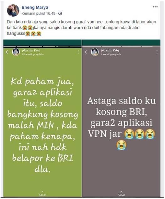 Viral Saldo Atm Wanita Ini Ludes Dibobol Karena Pakai Aplikasi Vpn Simak Bahaya Penggunaannya Tribunnews Com Line Today