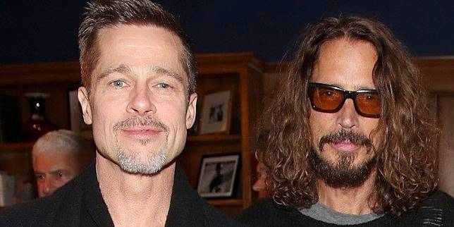 Brad Pitt dan Chris Cornell