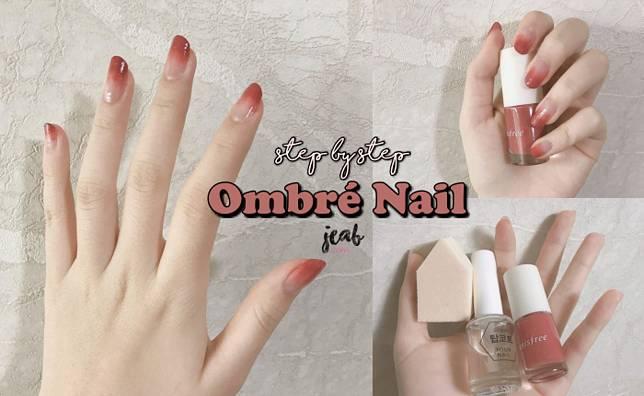 """ไอเดียทำเล็บ """"Ombré Nail"""" ง่ายๆ สไตล์เกาหลี ให้เล็บสวยไล่สี ดูมีสุขภาพดี๊ดี"""