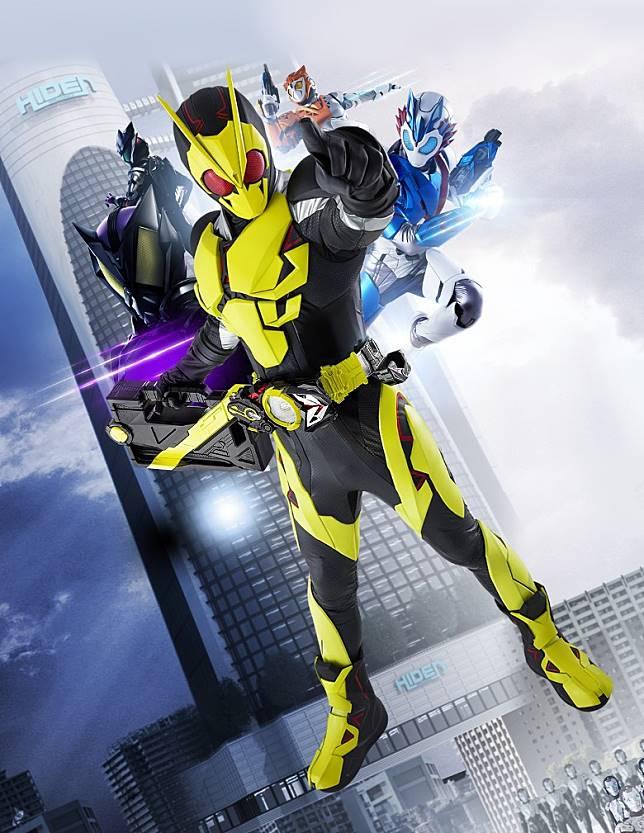 令和首套拉打劇集《幪面超人ZERO-ONE》現於日本熱播,稍後還會上映電影版。(互聯網)