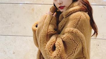 風靡日本時尚圈的毛絨外套你入手了嗎?學會不怕顯胖的完美視覺穿搭