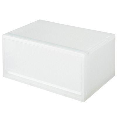 無印良品 聚丙烯抽屜·淺色·白色灰色1件
