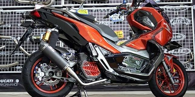 Racikan Keren Modifikasi Honda ADV 150