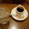 ホットコーヒー - 実際訪問したユーザーが直接撮影して投稿した名駅喫茶店コンパル メイチカ店の写真のメニュー情報