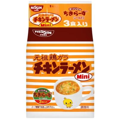 日本原裝進口 知名大廠-日清食品 香醇濃郁的雞汁湯頭 Q彈有勁的麵條口感