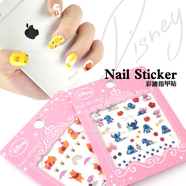 ◆迪士尼正品 官方授權◆讓指甲彩繪更與眾不同!◆簡單就可以弄出可愛的指甲喔!