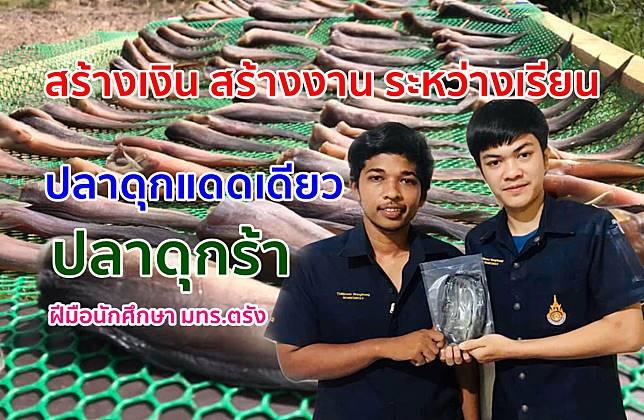 ปลาดุกแดดเดียว ปลาดุกร้าฝีมือนักศึกษา มทร.ตรัง ทำขายระหว่างเรียนยอดขายพุ่ง