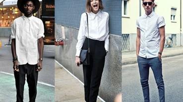 〔上身新作〕男孩、女孩都該知道的五大白襯衫穿搭重點!