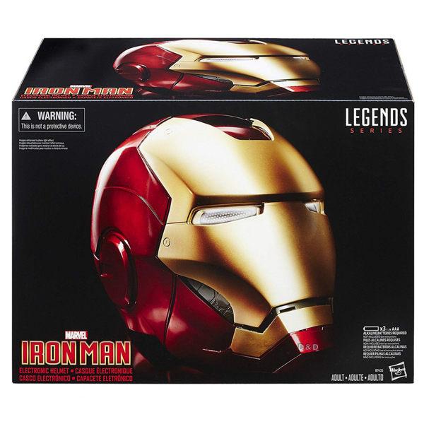 《 MARVEL 》漫威美國隊長3電影傳奇收藏鋼鐵人精緻頭盔╭★ JOYBUS玩具百貨