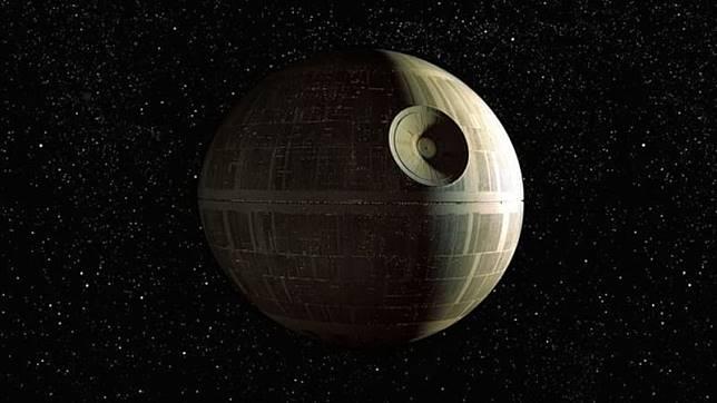 Death Star  di 'Star Wars'. (Foto: Star Wars)
