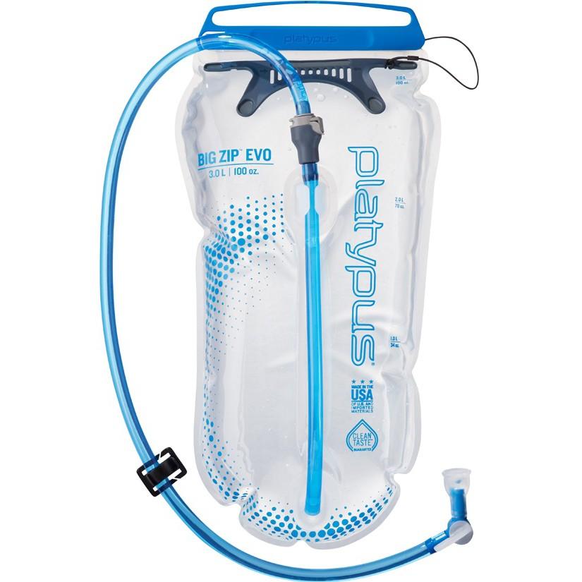 Platypus 鴨嘴獸 水袋/運動水袋 Big Zip EVO 大開口吸管水袋 3L 10857