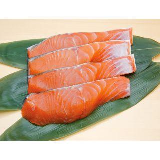 〈宮城県産〉銀鮭(養殖・解凍) 100g当り
