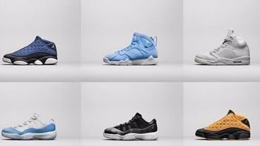 JORDAN品牌發表夏季精選復刻鞋款