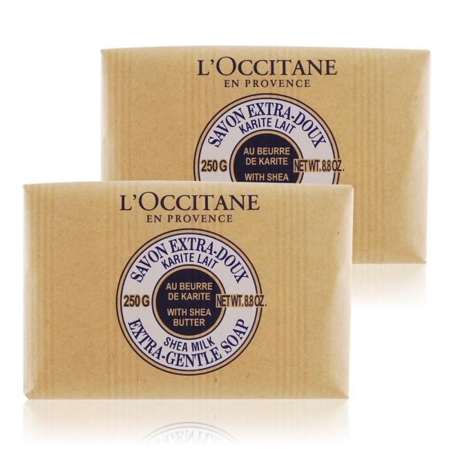LOCCITANE 歐舒丹 乳油木牛奶皂(250g)X2