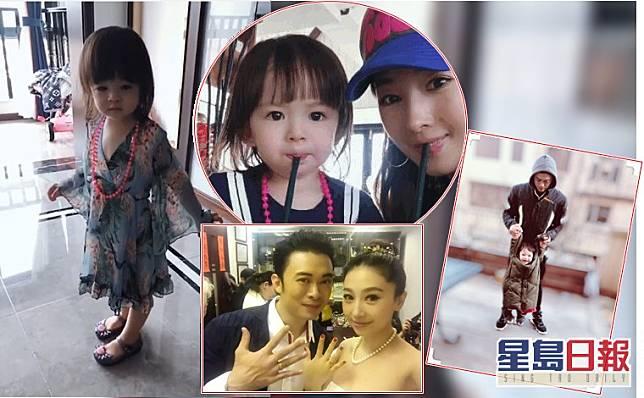 賈曉晨囡囡未夠三歲但已經好貪靚,一見到裙就要即刻着上身。