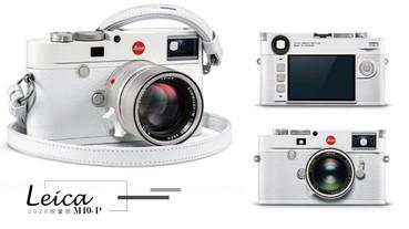 LEICA推出聖誕限定「雪白徠卡相機」,純白夢幻徠卡機身、背帶,全球350組限量開搶!