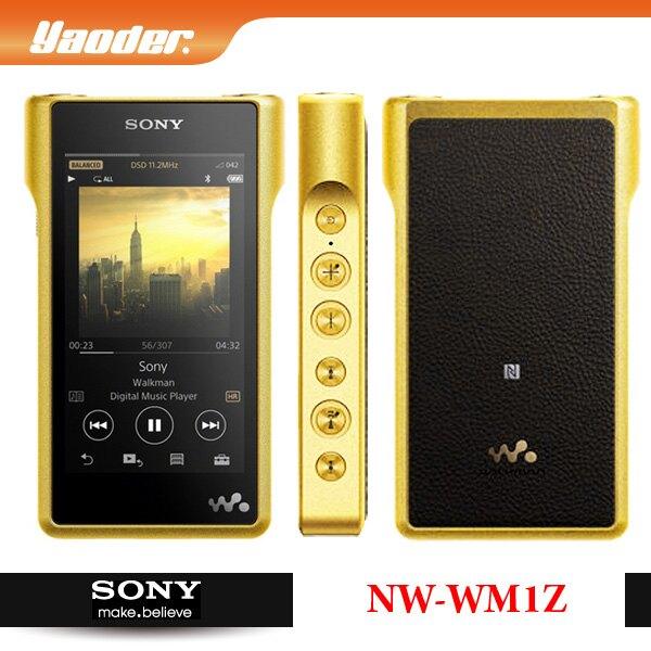 【曜德☆送耳擴盒】SONY NW-WM1Z 頂級數位隨身聽 256GB 觸控螢幕 持續33hr