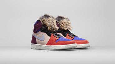 官方新聞 / 長毛造型鞋舌 Maya Moore x Aleali May x Air Jordan 1 'Court Lux' 台灣現已發售
