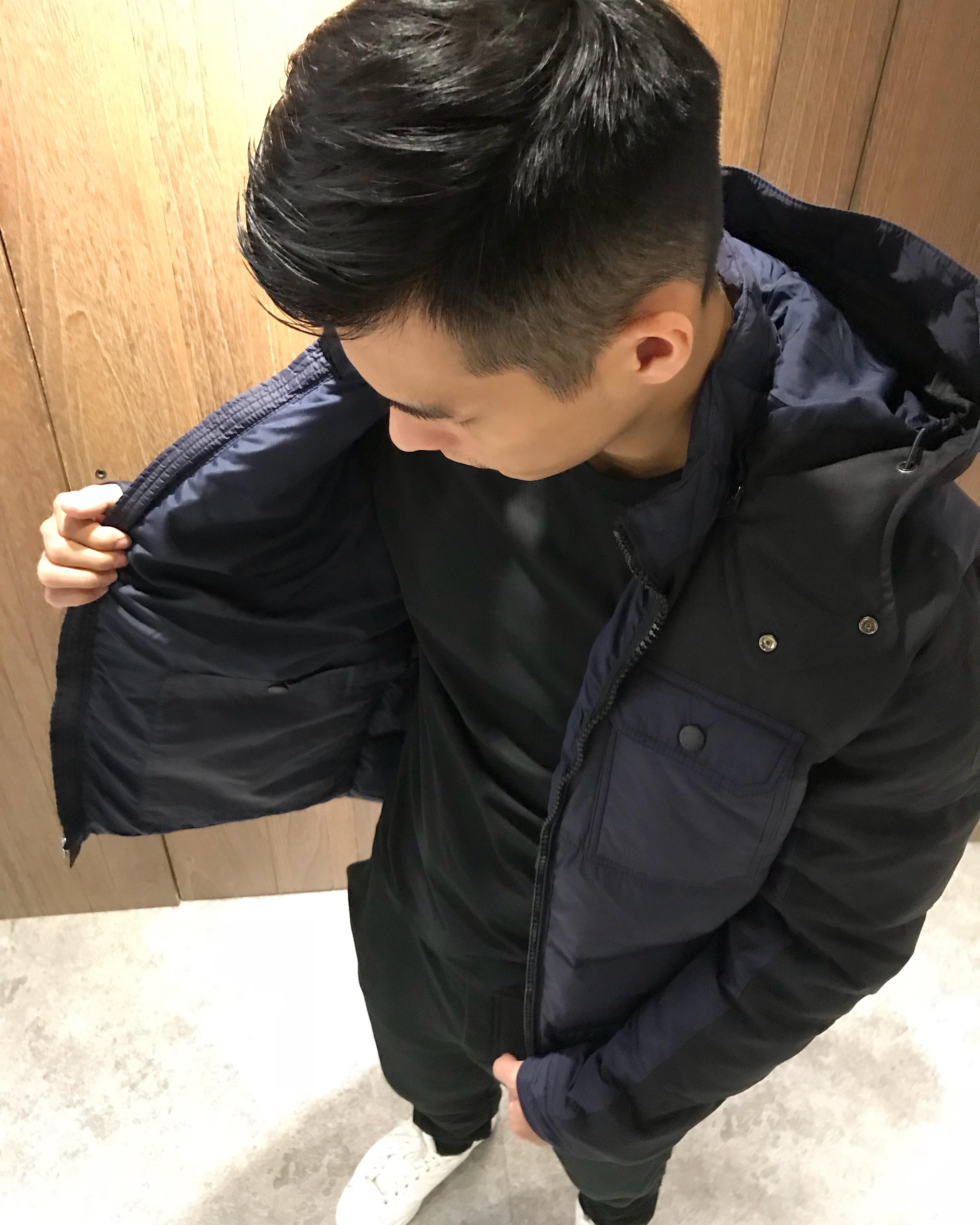 美國百分百【全新真品】Tommy Hilfiger 羽絨 外套 TH 夾克 連帽 軍裝 風衣 深藍 男 S號 I837。流行男裝與男鞋人氣店家美國百分百的首頁有最棒的商品。快到日本NO.1的Rakut