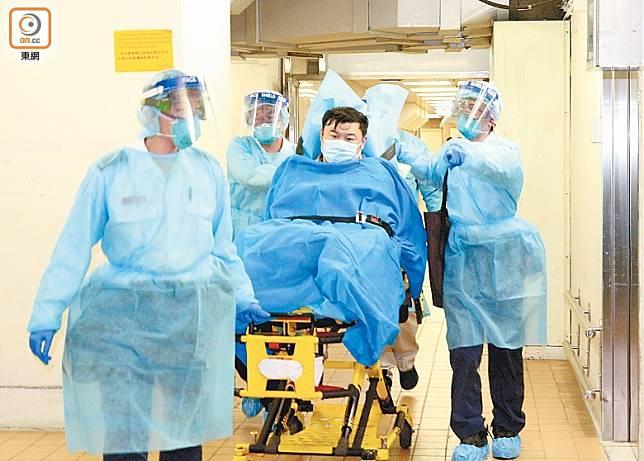 武漢肺炎病病毒傳播力強,本港亦已有確診個案。