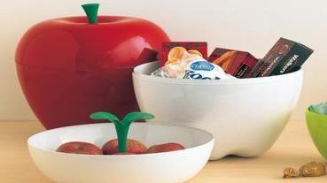 蘋果咬一口......裝飾、收納兩相宜!