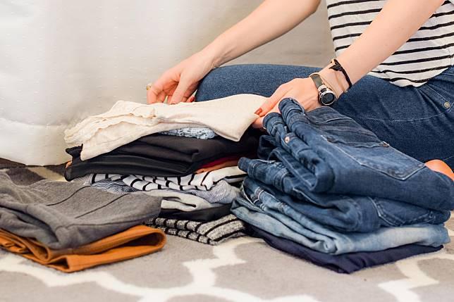 不要以「減肥後會穿」等藉口keep住大堆舊衫,應只保留現在會穿的衣物。