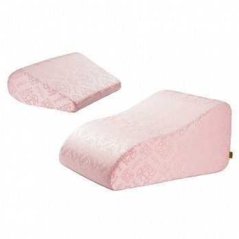 *babygo*GreySa格蕾莎-抬腿枕+輕鬆枕【浪漫粉紅】