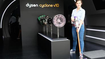 起點現場 / 跟塵蹣食物永不相見!Dyson 推吸塵器 V10 開設科技博物館