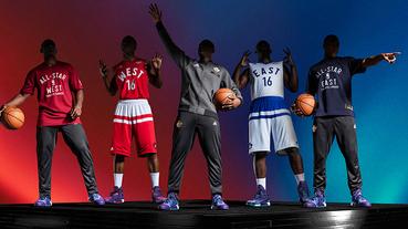 新聞速報 / adidas 與 NBA 共同發表 2016 全明星賽球衣套裝
