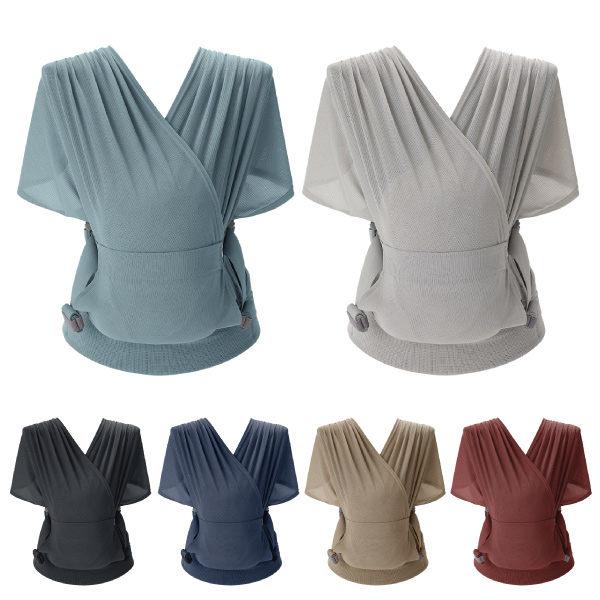 【加贈拋棄圍兜+筆記本】韓國 Pognae Step One Air 抗UV包覆式新生兒揹巾(6色可選)