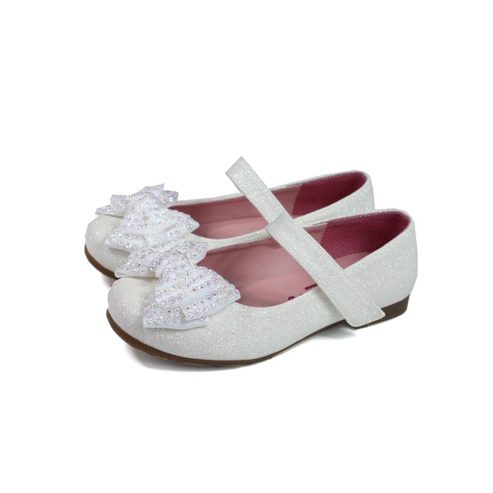 ◎小女生鞋 娃娃鞋◎白色 童鞋 no207