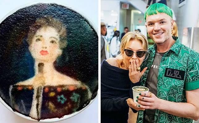 12 Lukisan wajah selebriti di kopi ini detailnya bikin takjub