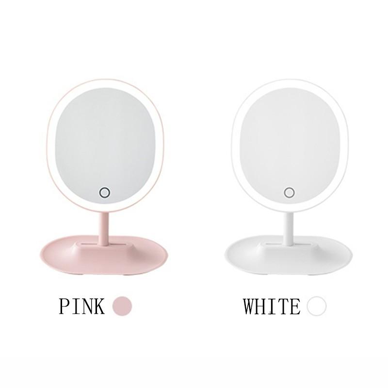 網易嚴選 - 指觸LED子母化妝鏡▶ 產品信息顏色:櫻花粉 珍珠白材質:ABS+ TPU + 亞克力 + 玻璃是否需要組裝:不需要尺寸:35.5 cm * 26.5 cm * 7.5 cm保固:12個