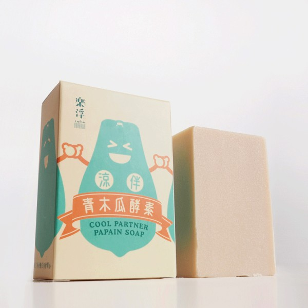 茶山房 - 涼伴青木瓜酵素皂*季節限定