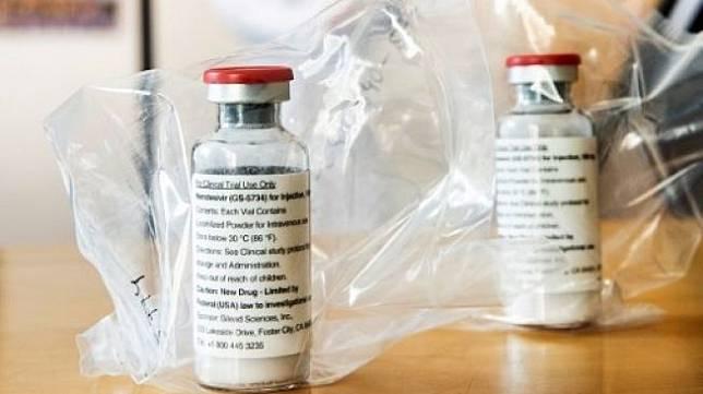 Remdesivir, obat buatan Gilead Sciences Inc yang digunakan untuk mengobati pasien virus corona COVID-19. [AFP]