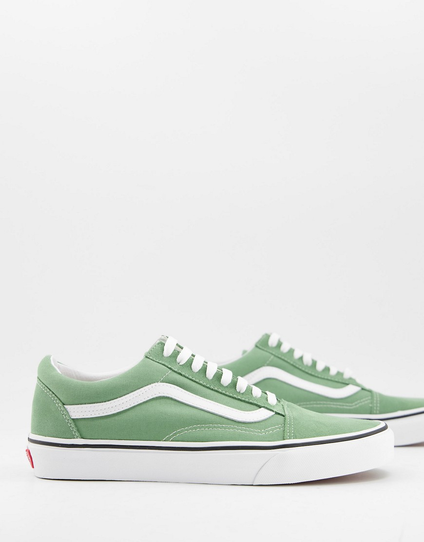 Trainers by Vans If in doubt, trainers Low-profile design Lace-up fastening Vans Old Skool stripe to