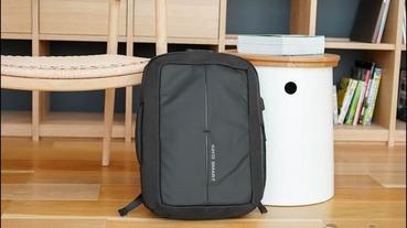科技防盜背包 Nayo Defensor 開箱,美型與功能性兼具的好包