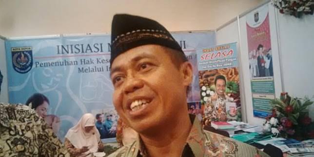 Former Depok mayor Nur Mahmudi Ismail