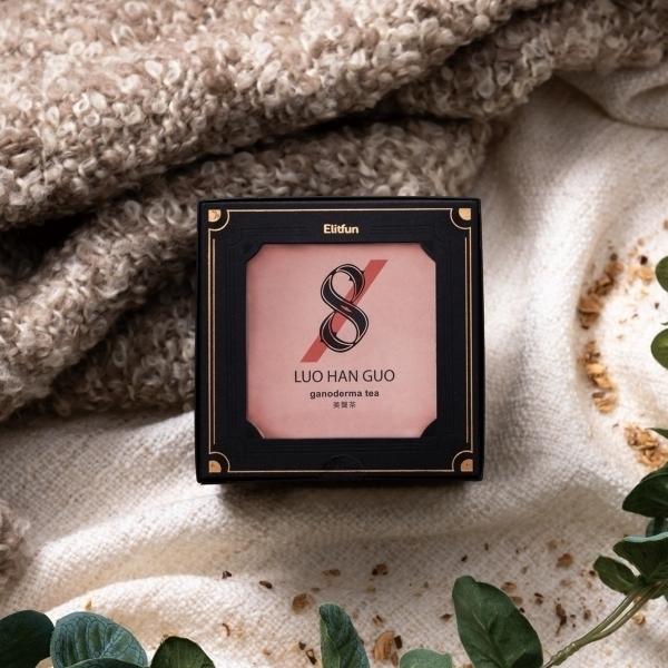 【ELITFUN】【8號】美聲茶・溫暖舒喉・無咖啡因養生茶│茶包禮盒