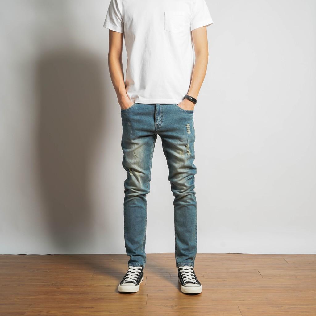 2019 S/S 微破壞 彈性牛仔褲 舒適好活動